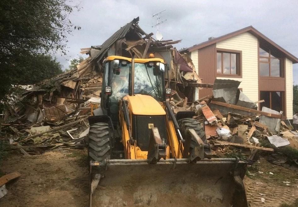 демонтаж зданий во Владимире